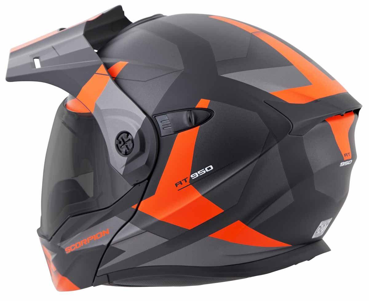 Scorpion-EXO-AT950-Helmet-Flip-Up-Modular-Dual-Sport-Adventure-ADV-DOT-XS-3XL miniature 51