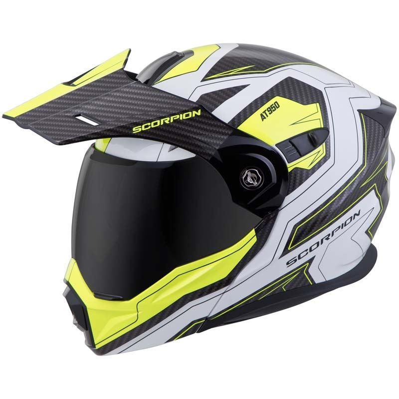 Scorpion-EXO-AT950-Helmet-Flip-Up-Modular-Dual-Sport-Adventure-ADV-DOT-XS-3XL miniature 76