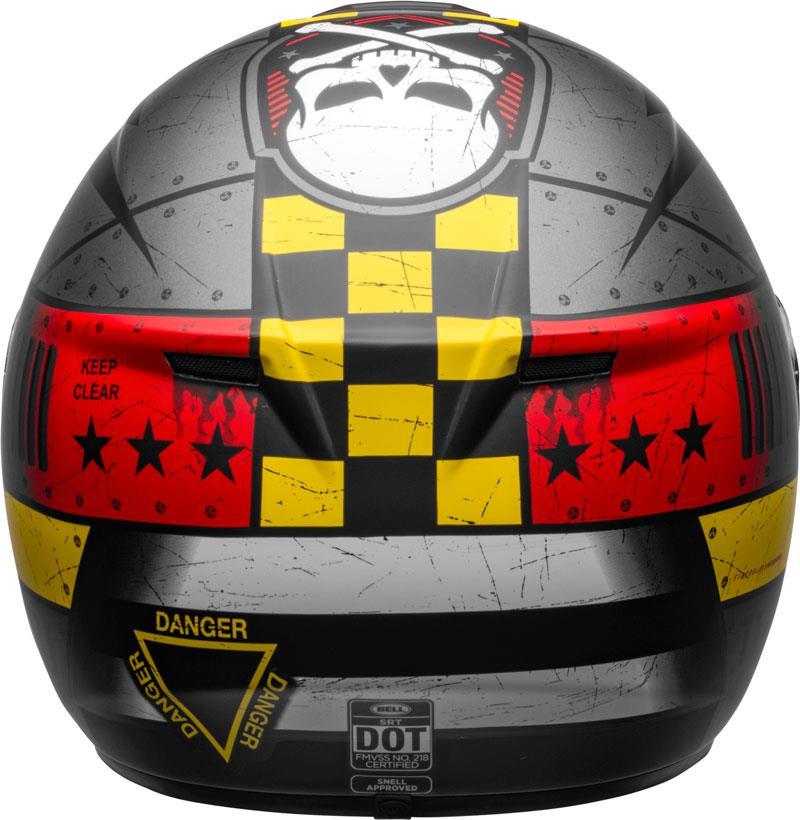 miniature 82 - Bell SRT Helmet Full Face Eyewear Friendly Fiberglass DOT SNELL M2015 XS-2XL