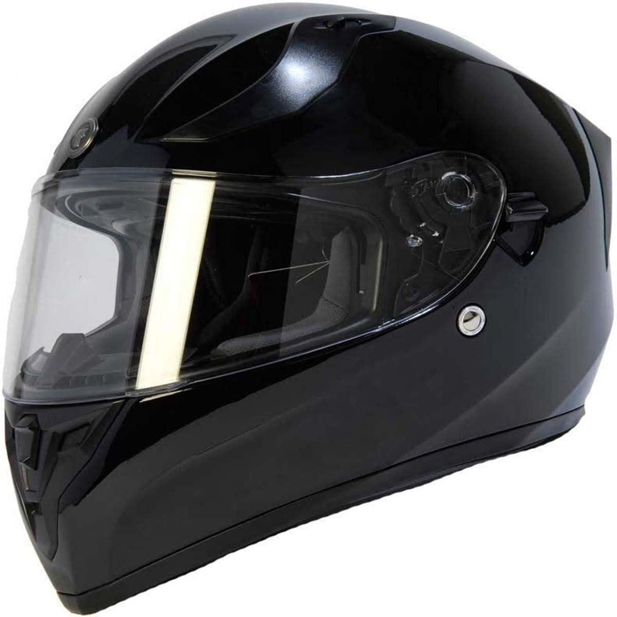miniature 5 - Torc T15 T15B Helmet Bluetooth Blinc or without - Inner Sun Shield DOT XS-2XL