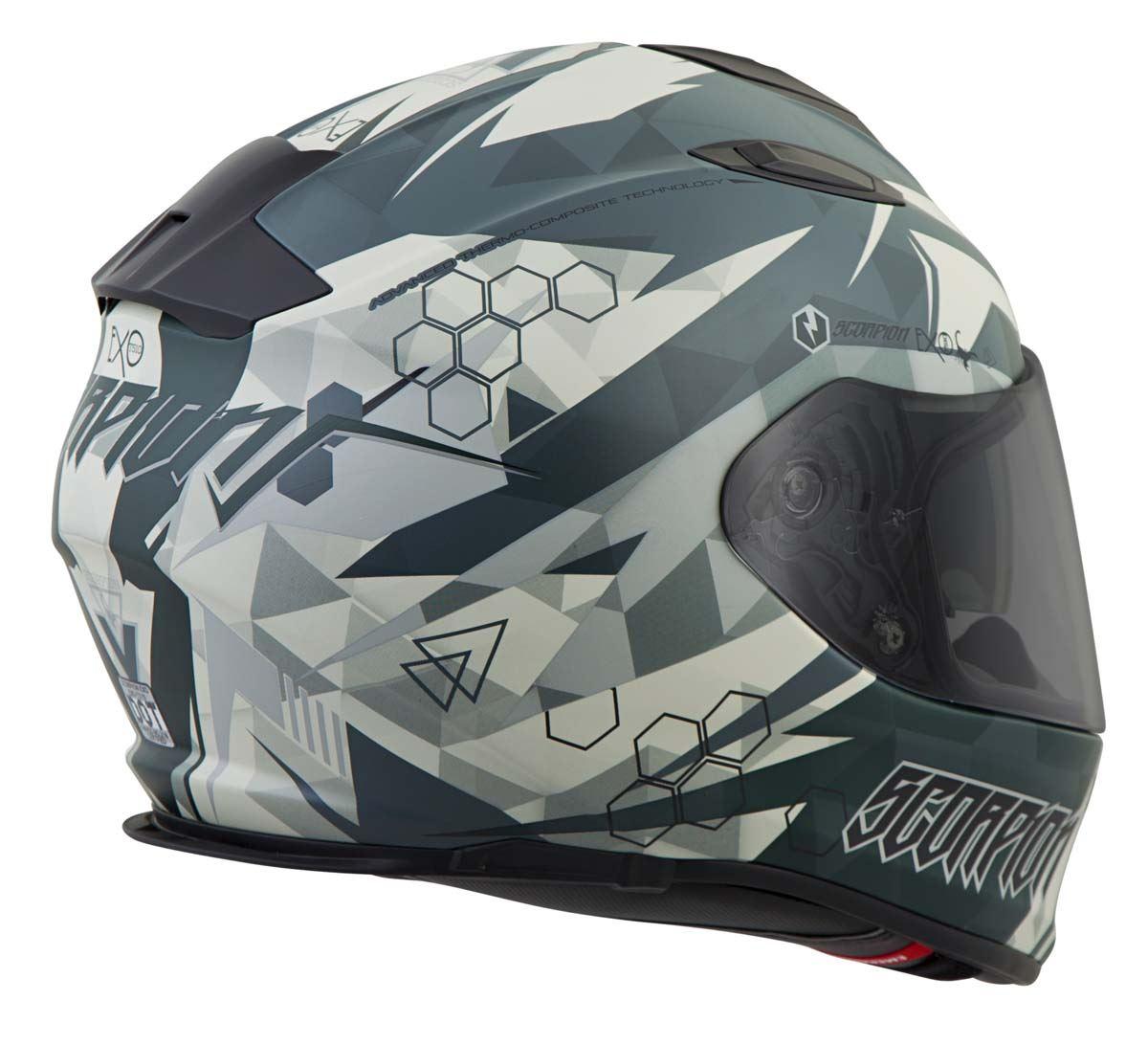 Scorpion-EXO-T510-Helmet-Full-Face-DOT-Approved-Inner-Sun-Shield miniature 60