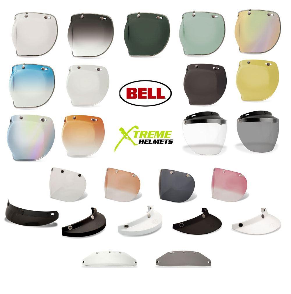 Bell Custom 500 Flip Visor Smoke