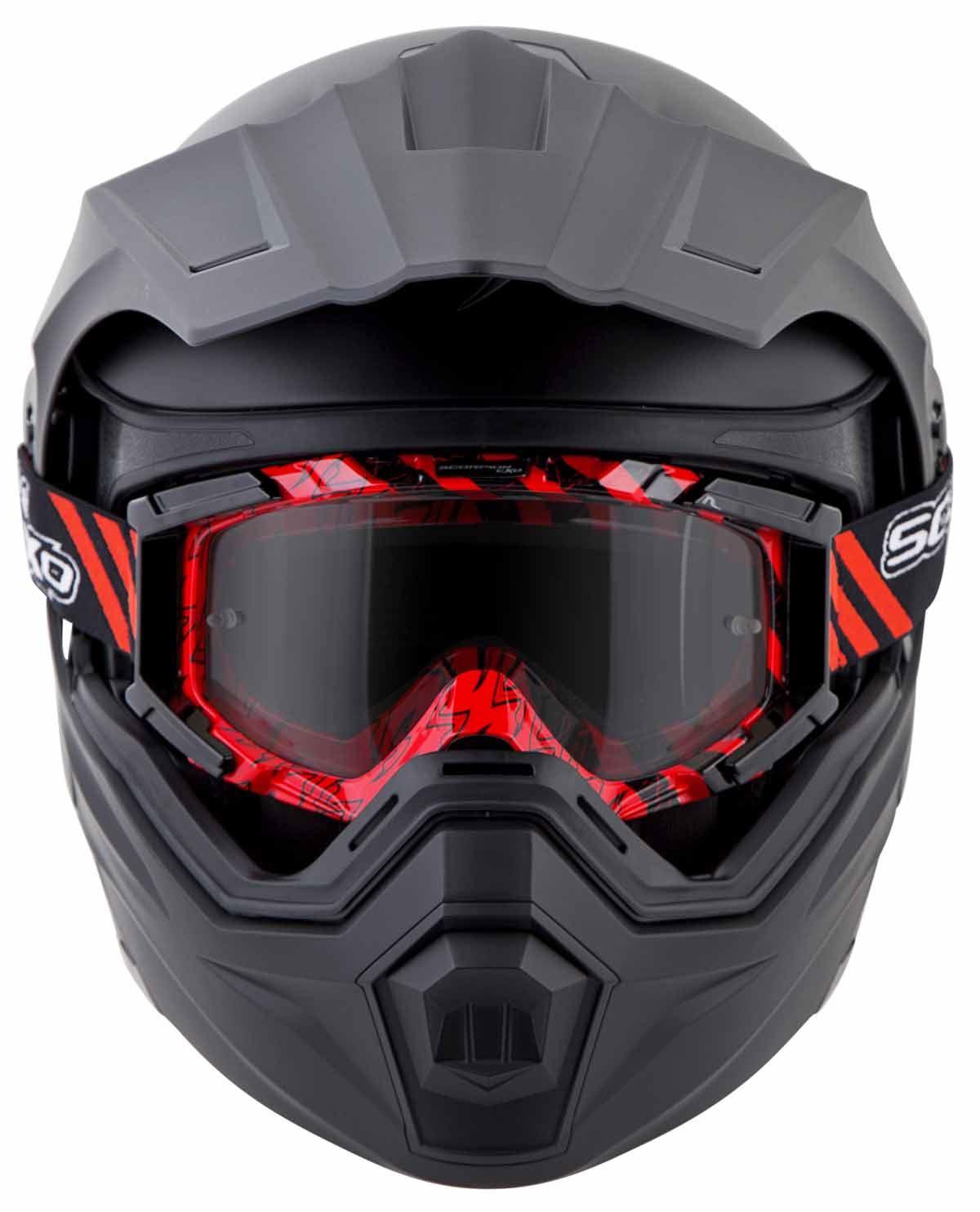 Scorpion-EXO-AT950-Helmet-Flip-Up-Modular-Dual-Sport-Adventure-ADV-DOT-XS-3XL miniature 5