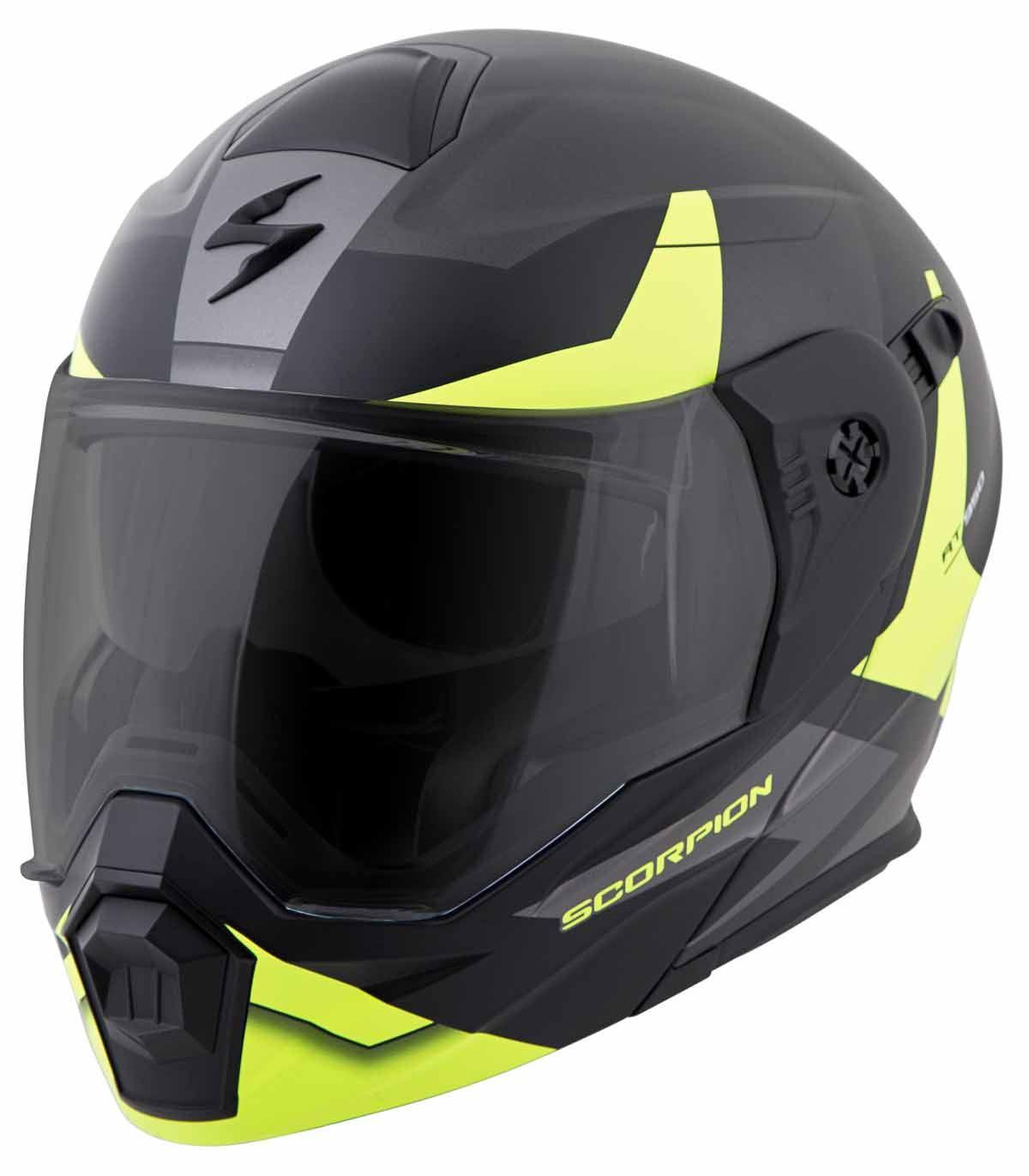 Scorpion-EXO-AT950-Helmet-Flip-Up-Modular-Dual-Sport-Adventure-ADV-DOT-XS-3XL miniature 35