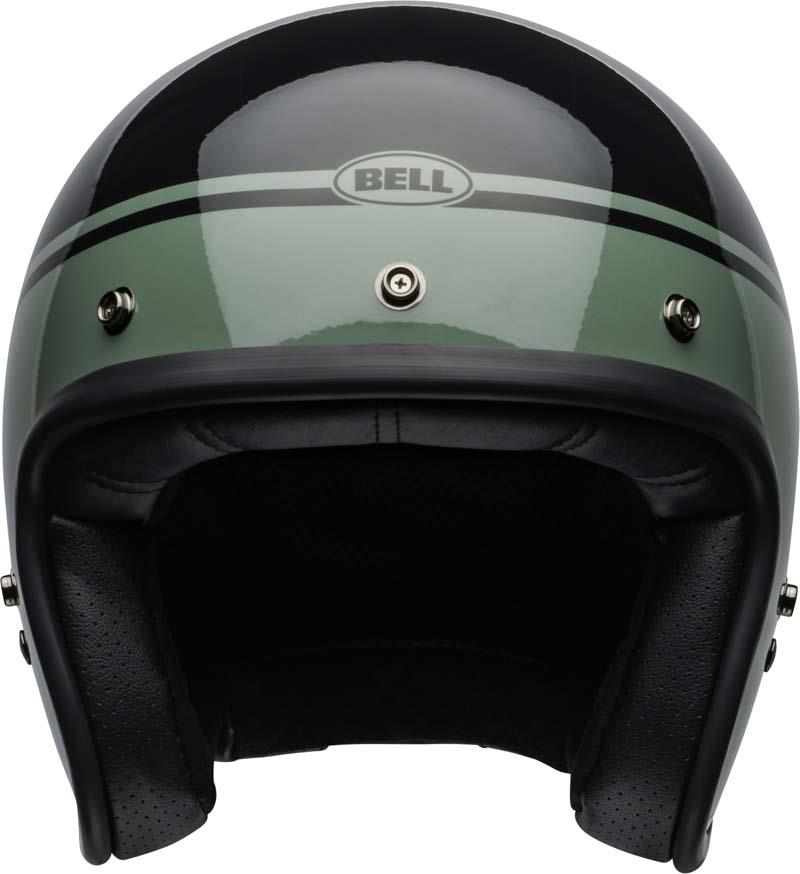 Bell-Custom-500-Helmet-3-4-Open-Face-Vintage-Retro-Motorcycle-5-Snap-XS-2XL miniature 30
