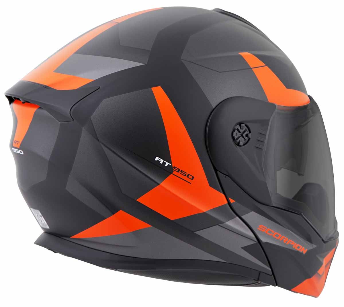 Scorpion-EXO-AT950-Helmet-Flip-Up-Modular-Dual-Sport-Adventure-ADV-DOT-XS-3XL miniature 52