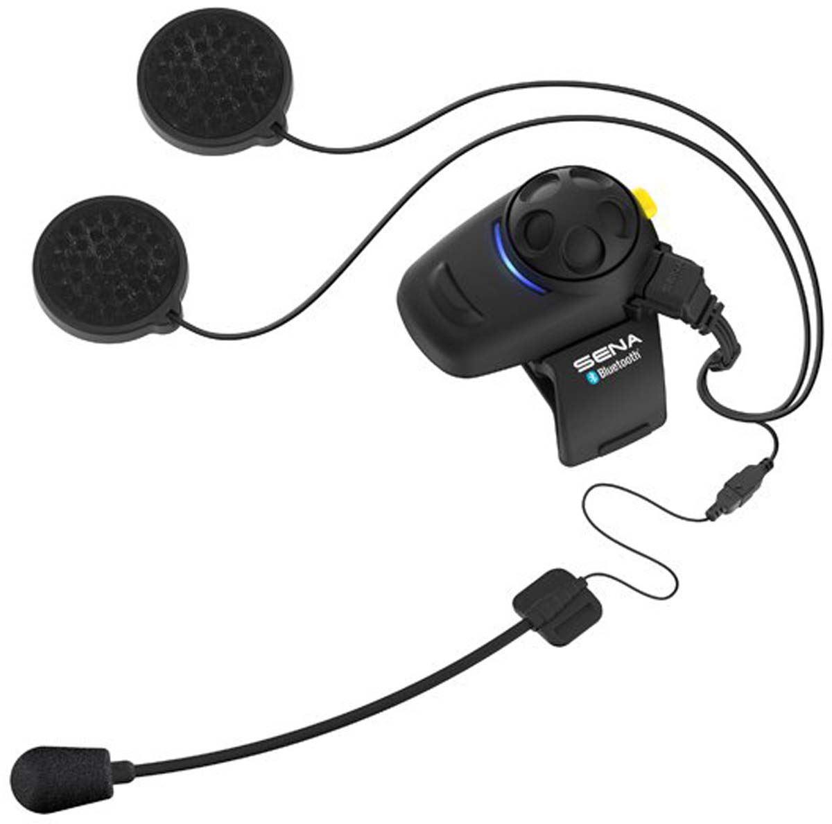 sena smh5 fm motorcycle bluetooth headset intercom with fm tuner single dual ebay. Black Bedroom Furniture Sets. Home Design Ideas