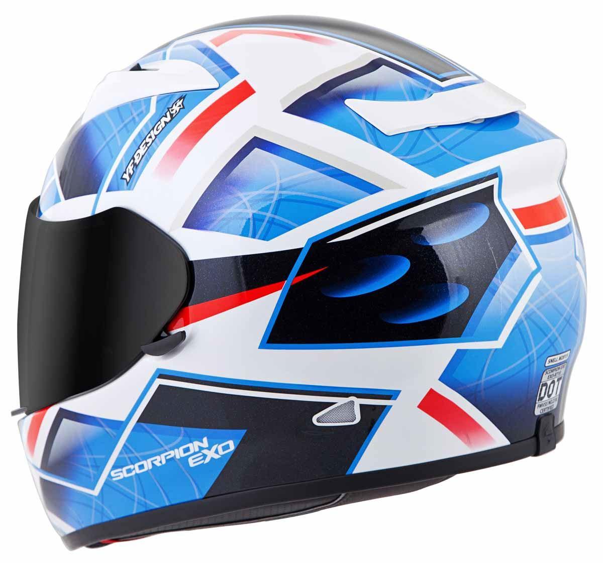 Scorpion-EXO-R710-Helmet-Fiberglass-Full-Face-DOT-SNELL-M2015-Certified-XS-2XL miniature 20