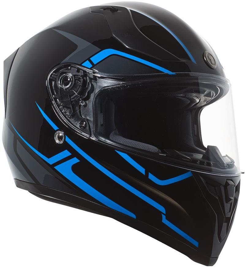 miniature 43 - Torc T15 T15B Helmet Bluetooth Blinc or without - Inner Sun Shield DOT XS-2XL