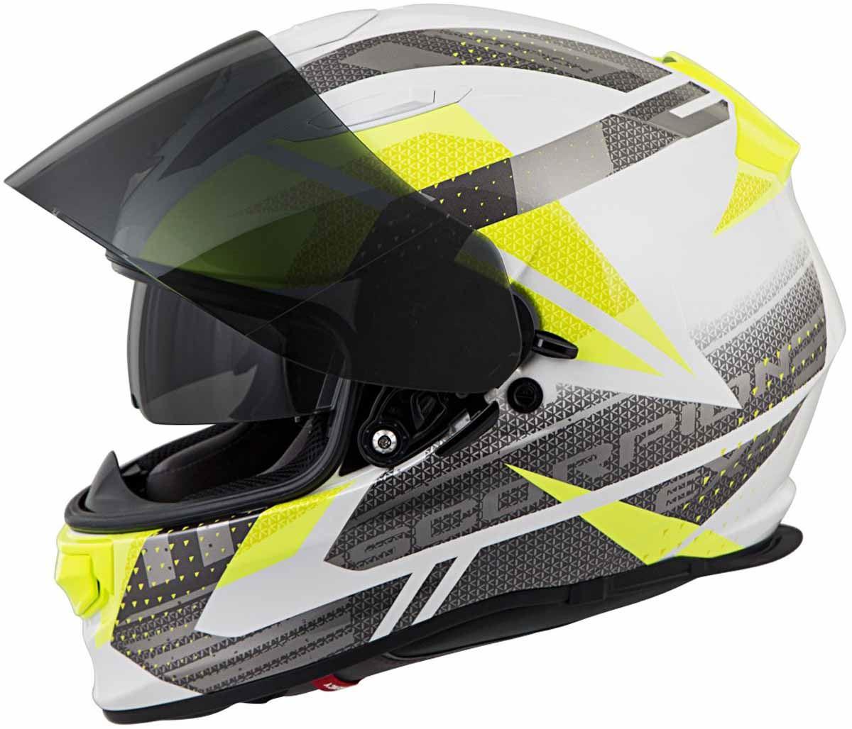Scorpion-EXO-T510-Helmet-Full-Face-DOT-Approved-Inner-Sun-Shield miniature 76