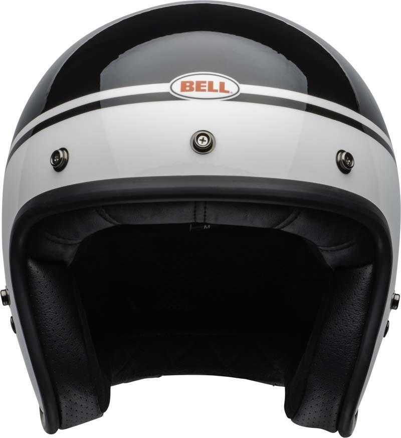 Bell-Custom-500-Helmet-3-4-Open-Face-Vintage-Retro-Motorcycle-5-Snap-XS-2XL miniature 37