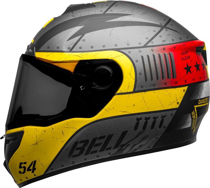Bell-SRT-Helmet-Full-Face-Eyewear-Friendly-Fiberglass-DOT-SNELL-M2015-XS-2XL miniature 78