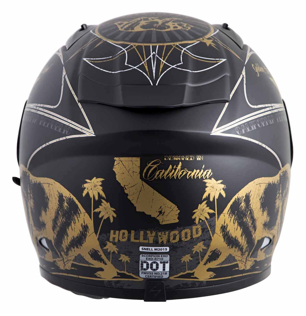 Scorpion-EXO-R710-Helmet-Fiberglass-Full-Face-DOT-SNELL-M2015-Certified-XS-2XL miniature 39