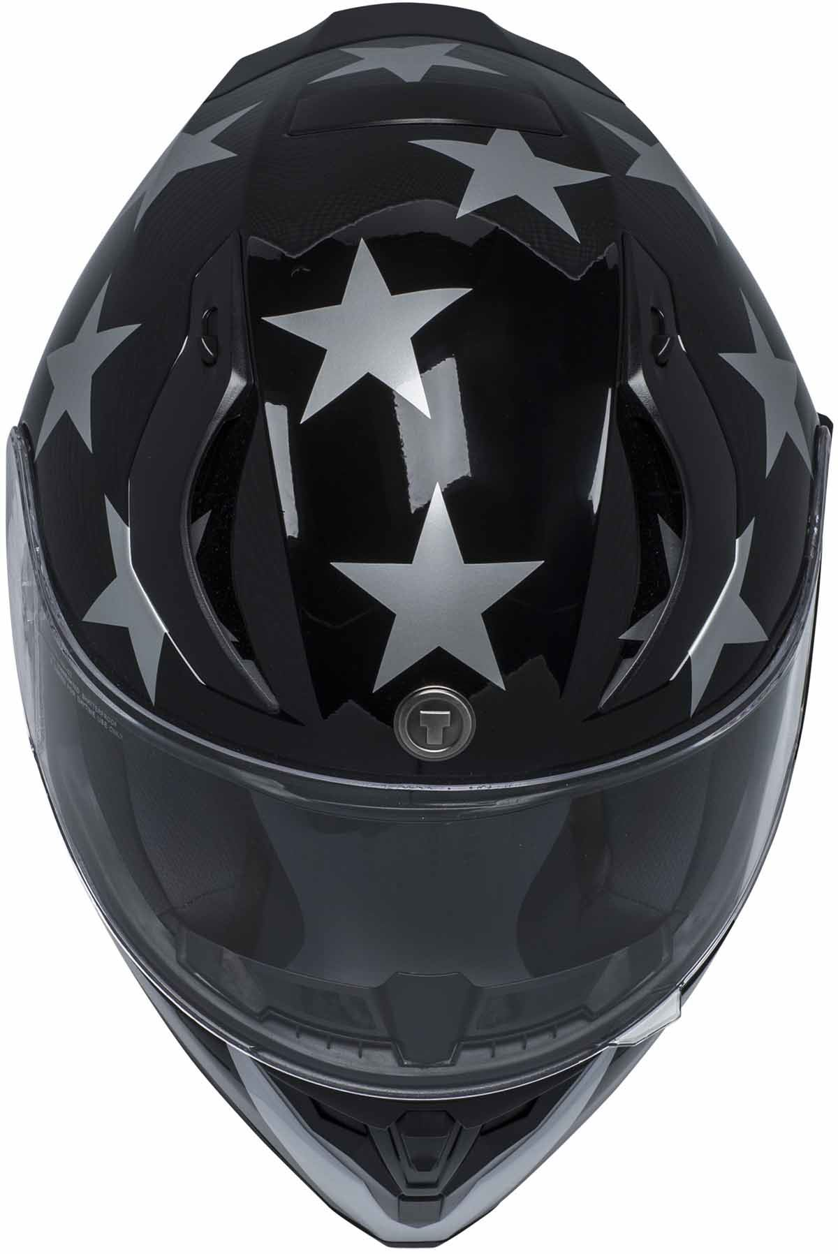 miniature 10 - Torc T15 T15B Helmet Bluetooth Blinc or without - Inner Sun Shield DOT XS-2XL