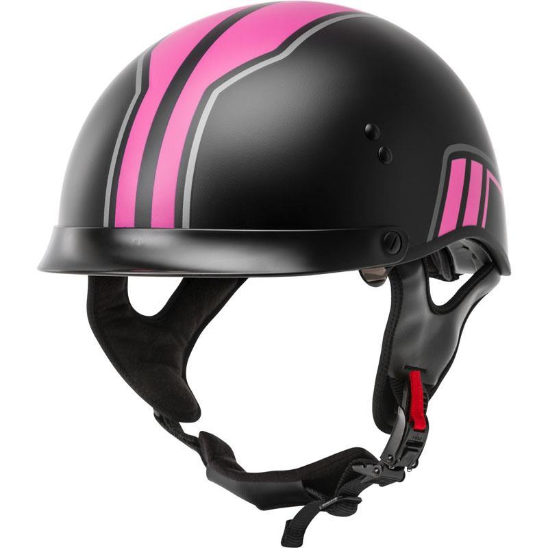 GMax GM65 Naked Torque Half Helmet - Motorcycle House