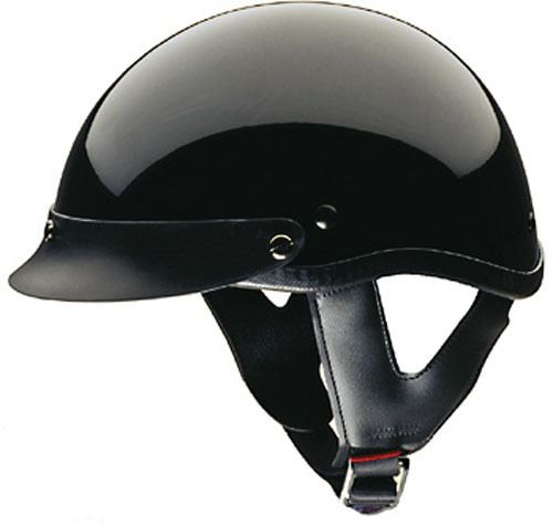 miniature 5 - HCI 100 Half Helmet Motorcycle Shorty with Visor DOT Approved XS S M L XL 2XL