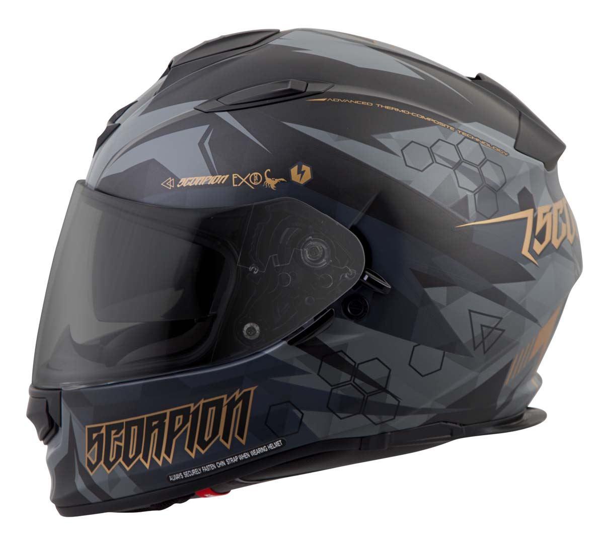 Scorpion-EXO-T510-Helmet-Full-Face-DOT-Approved-Inner-Sun-Shield miniature 44