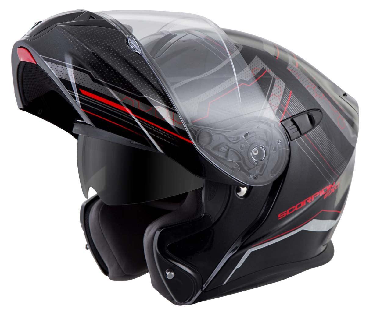 Scorpion-EXO-GT920-Helmet-Sport-Touring-Modular-Flip-Up-DOT-Approved-XS-3XL miniature 25