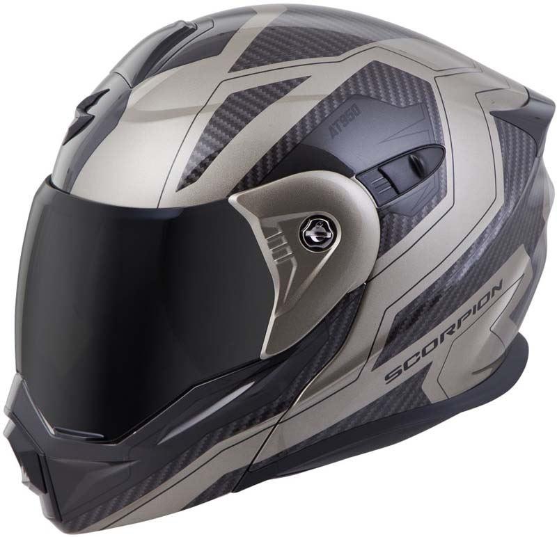 Scorpion-EXO-AT950-Helmet-Flip-Up-Modular-Dual-Sport-Adventure-ADV-DOT-XS-3XL miniature 71