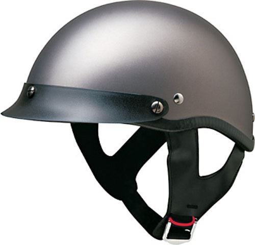 miniature 6 - HCI 100 Half Helmet Motorcycle Shorty with Visor DOT Approved XS S M L XL 2XL