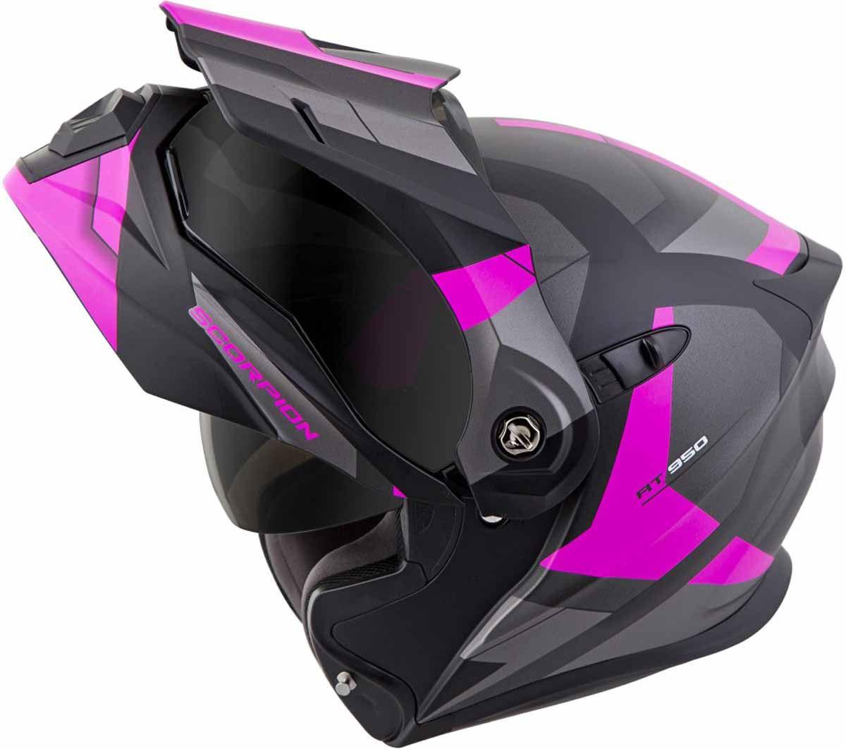 Scorpion-EXO-AT950-Helmet-Flip-Up-Modular-Dual-Sport-Adventure-ADV-DOT-XS-3XL miniature 45