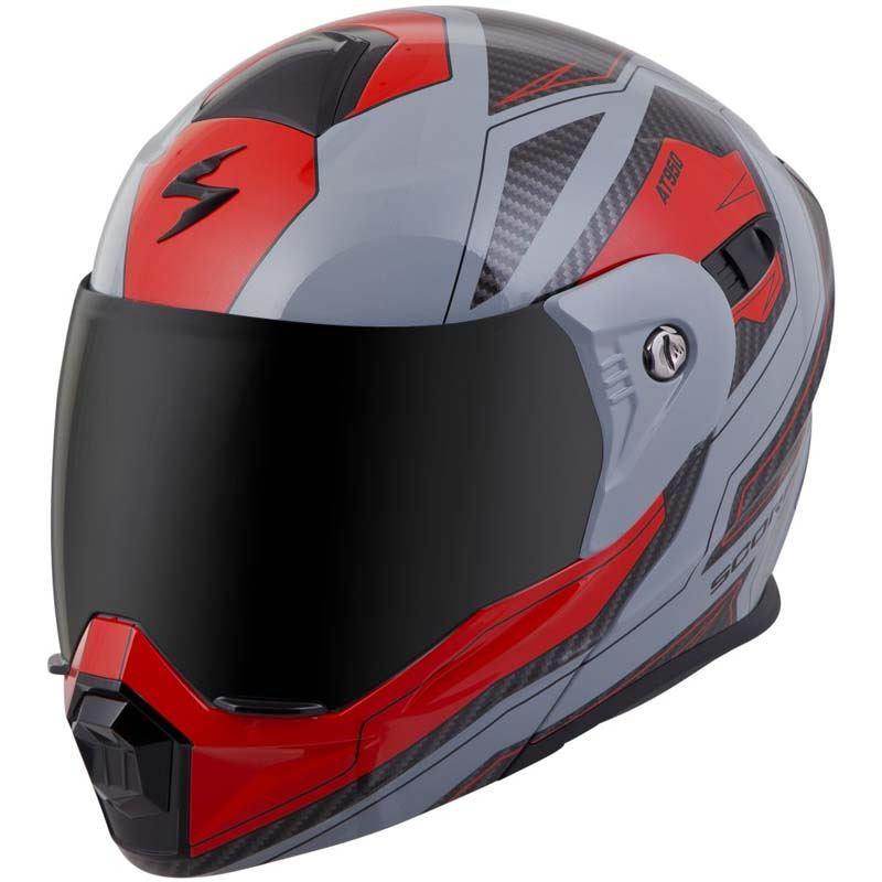 Scorpion-EXO-AT950-Helmet-Flip-Up-Modular-Dual-Sport-Adventure-ADV-DOT-XS-3XL miniature 61