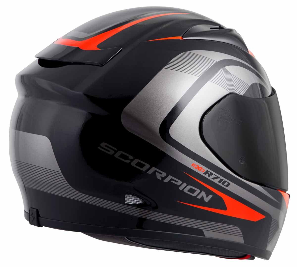 Scorpion-EXO-R710-Helmet-Fiberglass-Full-Face-DOT-SNELL-M2015-Certified-XS-2XL miniature 15