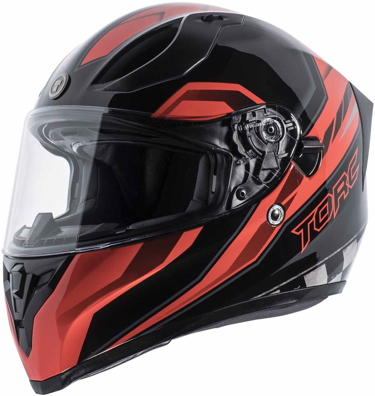 miniature 23 - Torc T15 T15B Helmet Bluetooth Blinc or without - Inner Sun Shield DOT XS-2XL