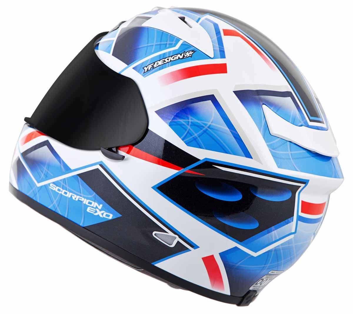 Scorpion-EXO-R710-Helmet-Fiberglass-Full-Face-DOT-SNELL-M2015-Certified-XS-2XL miniature 22