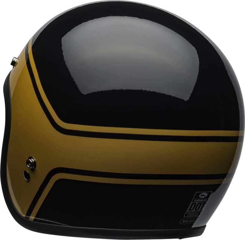 Bell-Custom-500-Helmet-3-4-Open-Face-Vintage-Retro-Motorcycle-5-Snap-XS-2XL miniature 46