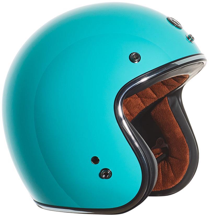 miniature 36 - Torc T50 Helmet 3/4 Open Face Motorcycle 3 Snap DOT XS-2XL 2020-21 Line