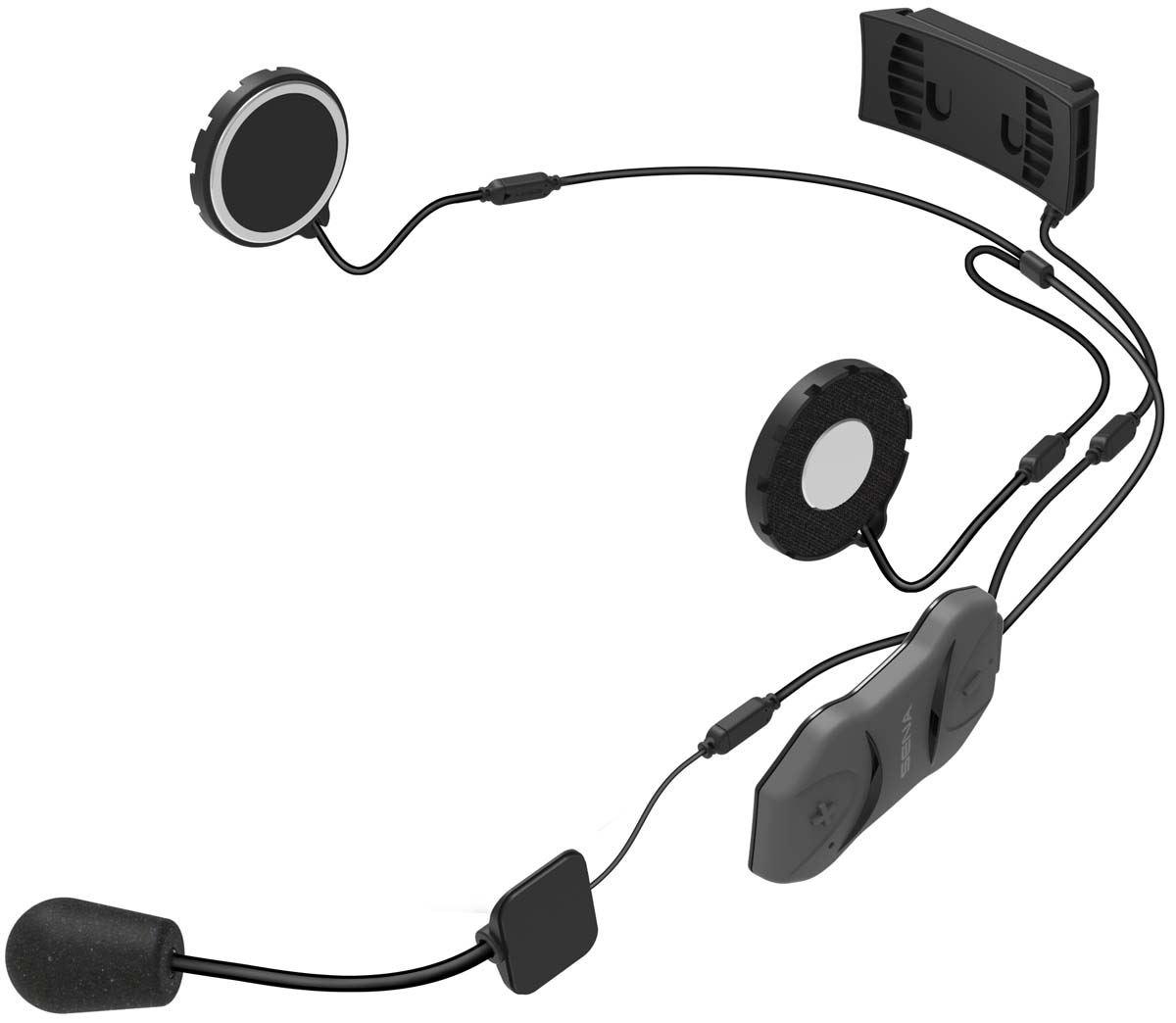 Sena Bluetooth 10R Low Profile Motorcycle Bluetooth Communication System