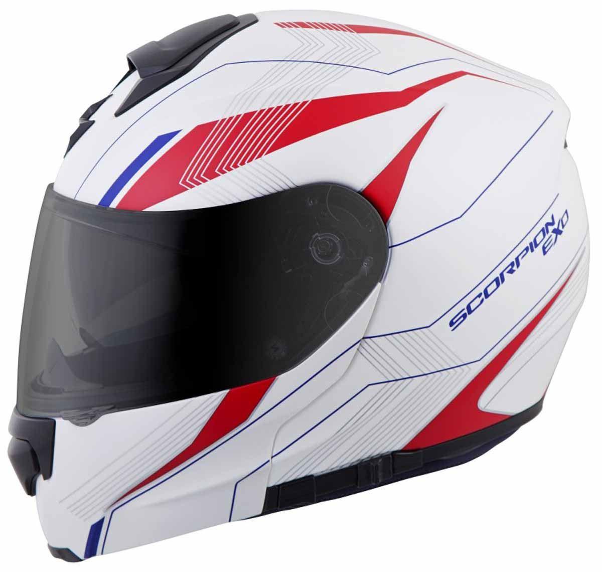 Scorpion-EXO-GT3000-Helmet-Modular-Flip-Up-Premium-DOT-Approved-XS-2XL miniature 25