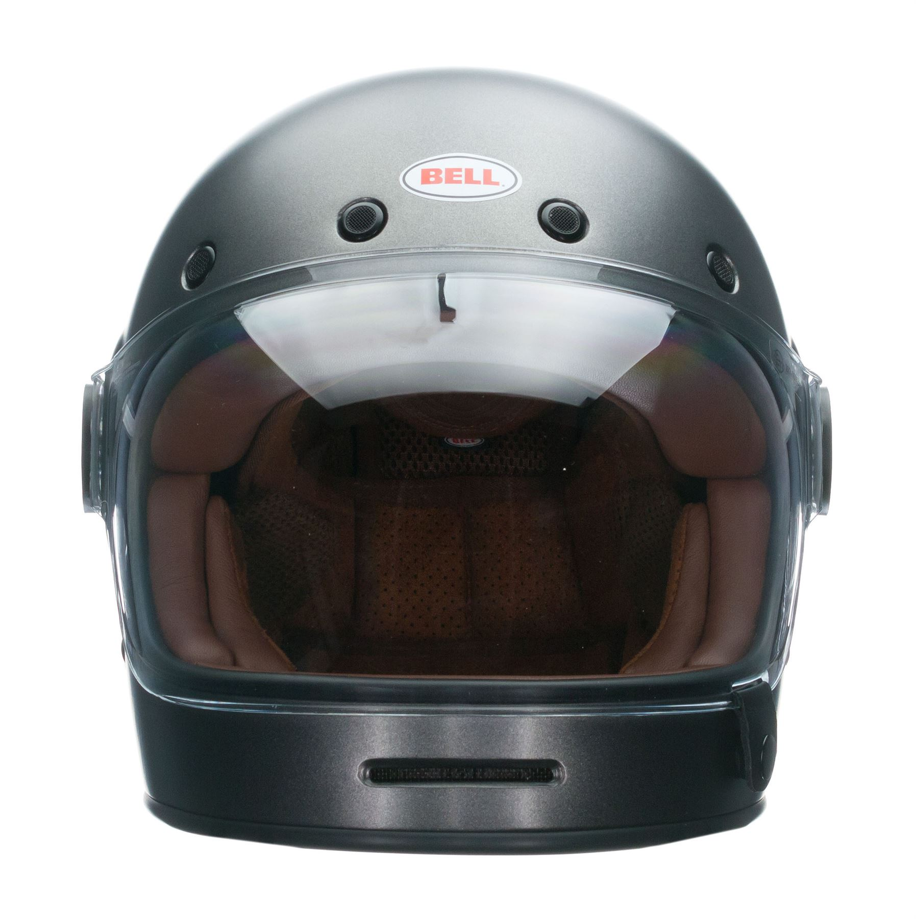 Motorcycle Helmets Dot >> Bell Bullitt Helmet Full Face Retro Vintage Removable Liner DOT XS-2XL | eBay