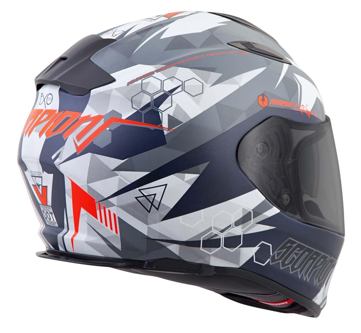 Scorpion-EXO-T510-Helmet-Full-Face-DOT-Approved-Inner-Sun-Shield miniature 52