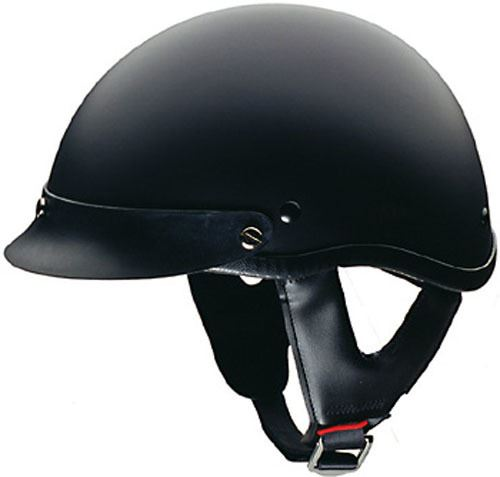 miniature 4 - HCI 100 Half Helmet Motorcycle Shorty with Visor DOT Approved XS S M L XL 2XL