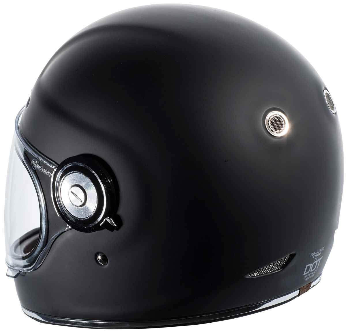 miniature 4 - Torc T1 Helmet Retro Vintage Style Fiberglass DOT Approved XS-2XL