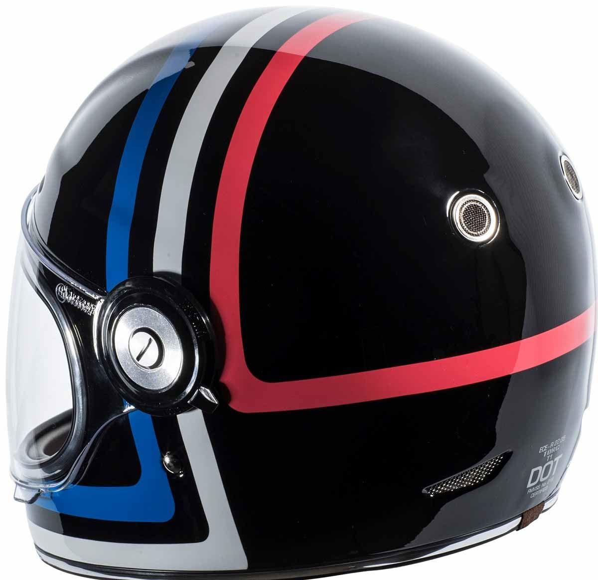 miniature 15 - Torc T1 Helmet Retro Vintage Style Fiberglass DOT Approved XS-2XL