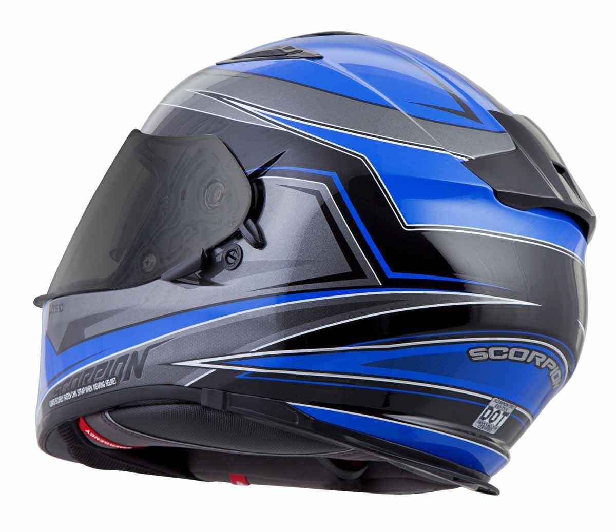 Scorpion-EXO-T510-Helmet-Full-Face-DOT-Approved-Inner-Sun-Shield miniature 30