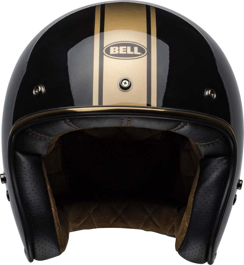 Bell-Custom-500-Helmet-3-4-Open-Face-Vintage-Retro-Motorcycle-5-Snap-XS-2XL miniature 51