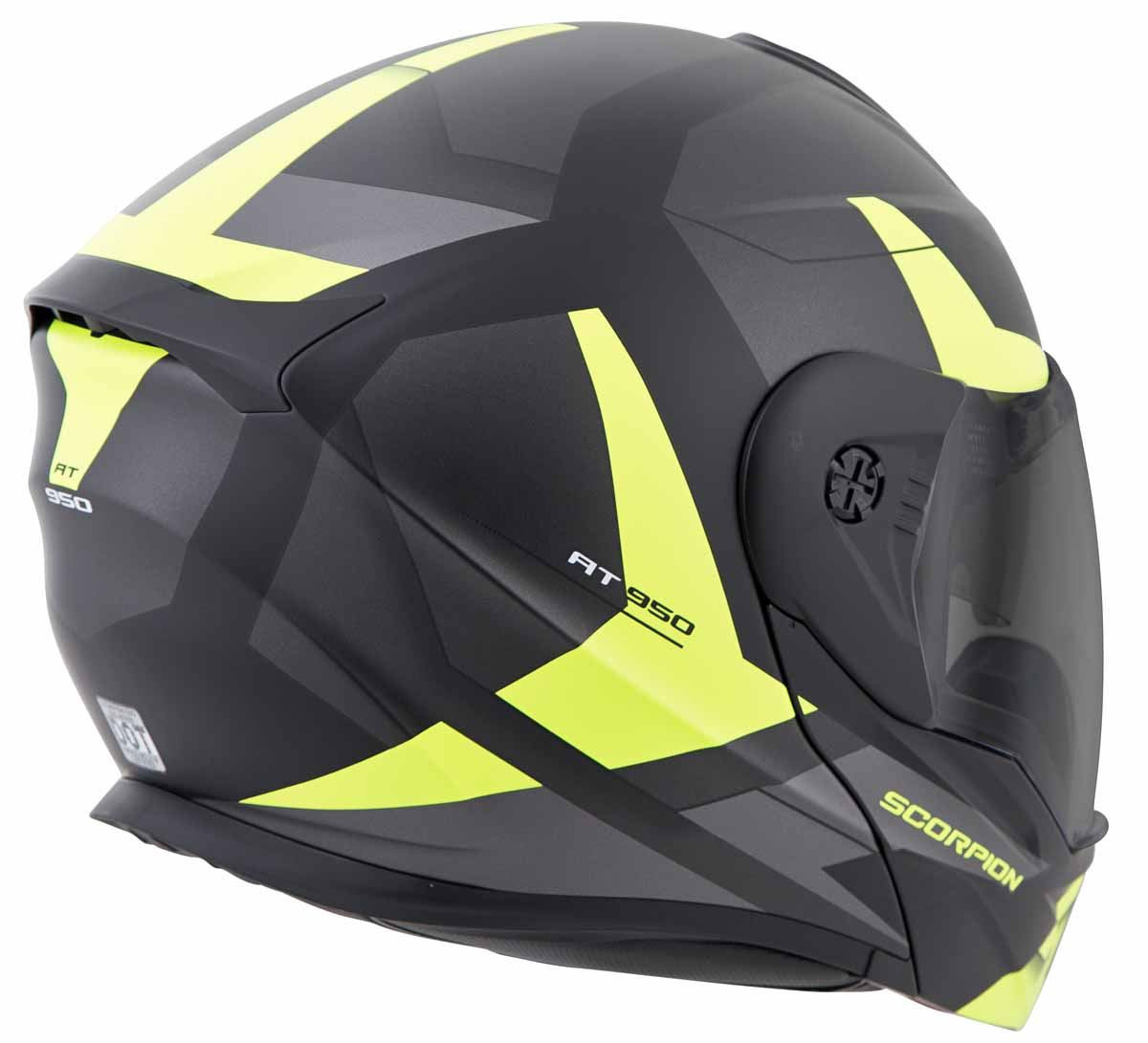 Scorpion-EXO-AT950-Helmet-Flip-Up-Modular-Dual-Sport-Adventure-ADV-DOT-XS-3XL miniature 40