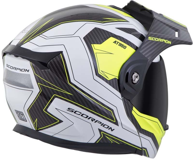 Scorpion-EXO-AT950-Helmet-Flip-Up-Modular-Dual-Sport-Adventure-ADV-DOT-XS-3XL miniature 79