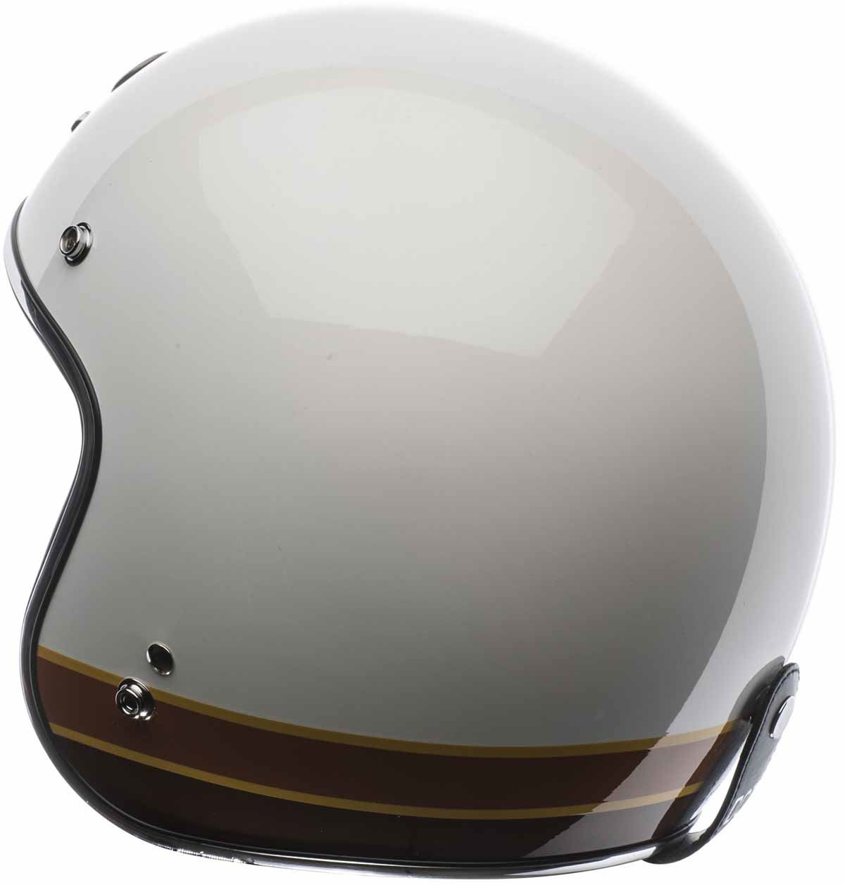 Torc T50 Helmet Open Face Helmet Motorcycle Retro Vintage Suede Liner