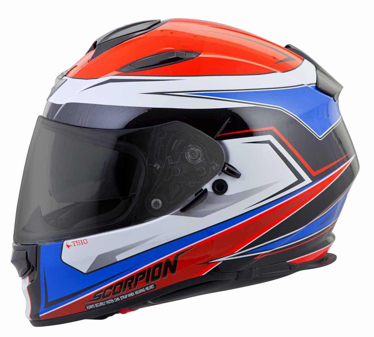 Scorpion-EXO-T510-Helmet-Full-Face-DOT-Approved-Inner-Sun-Shield miniature 32