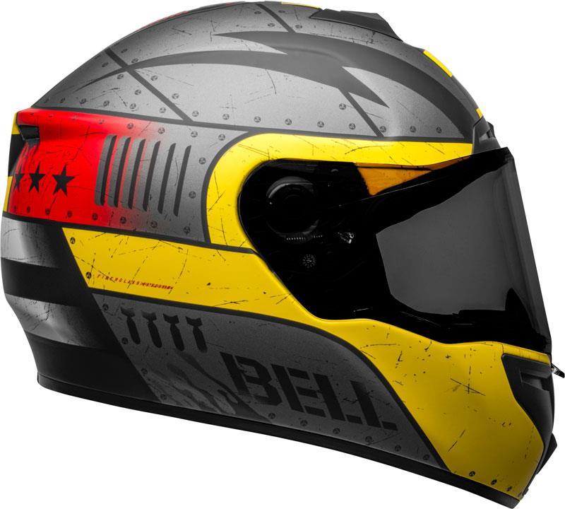 Bell-SRT-Helmet-Full-Face-Eyewear-Friendly-Fiberglass-DOT-SNELL-M2015-XS-2XL miniature 79
