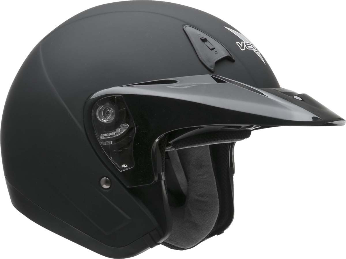 Vega VTS1 Helmet Open Face Motorcycle DOT Washable Liner