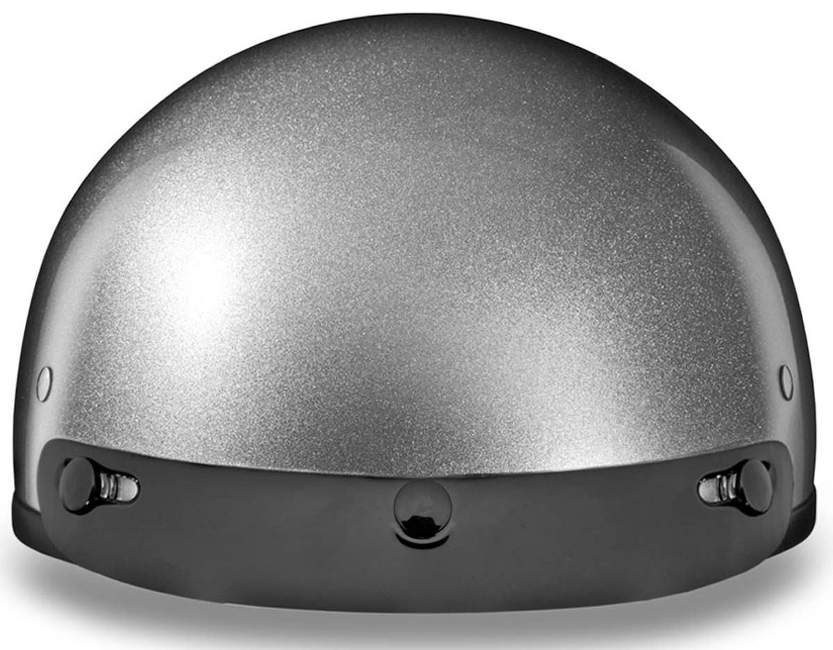 Daytona Skull Cap Half Helmet Slim Line Solid DOT Approved ...