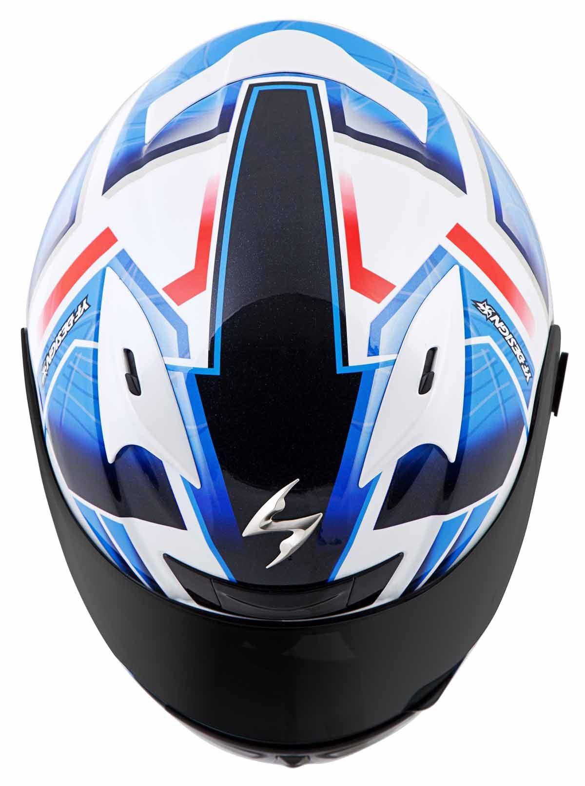 Scorpion-EXO-R710-Helmet-Fiberglass-Full-Face-DOT-SNELL-M2015-Certified-XS-2XL miniature 23