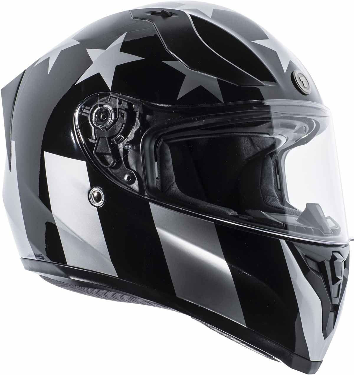 miniature 9 - Torc T15 T15B Helmet Bluetooth Blinc or without - Inner Sun Shield DOT XS-2XL