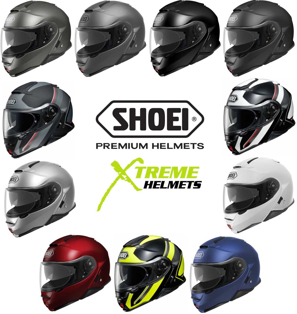 0b9b625c Shoei Neotec 2 Helmet Flip Up Modular Inner Sun Shield Removable Liner  XS-2XL